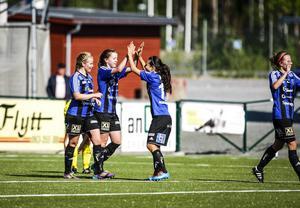 ÖDFF fick jubla på nytt efter matchen borta mot Ljusdal.