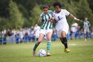 Bangok mot Othilienborg i finalen flickor 14. Thailändskorna vann med 2-1.