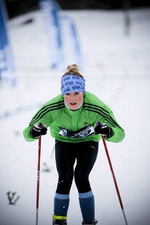 Att intresset för längdåkningen växer visade det stora antalet motionärer som åkte årets Jämtkraft Ski Marathon.