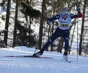Jesper Persson fick med sig två USM-silver till Sveg.