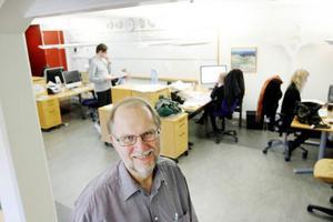 """""""Siffrorna är ett kvitto på att vi gör en bra lokaltidning som många vill läsa varje dag"""", säger LT:s chefredaktör, Lennart Mattsson.Foto: Henrik  Flygare"""