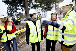 Jenny Glumoff, Kerstin Almén, Lena Åman och Stefan Lundqvist.