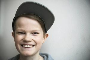 Isak Strand, 12 år, Dvärsätts skola: