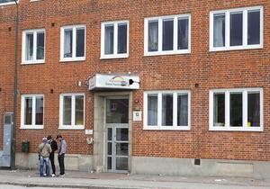 Asylprövningsenhet för ensamkommande flyktingbarn hos Migrationsverket i Malmö. Bilden är tagen i september 2013.