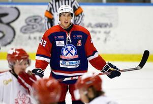 Surabacken Christofer Udd gjorde ett av målen i derbyt mot IFK Arboga.
