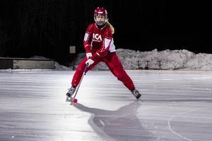 Hon har precis tagit VM-guld och nytt jobb. Självklart skulle Söråkers Malin Persson hyllas.