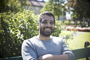 Shuan Algaff, 37 år, kalkylator, Stockholm: – Lite, när man är ute på vattnet och det är mörka moln nära båten.