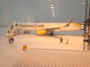 Tog flyget igår från snön till Teneriffa.