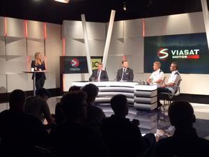 Presskonferens med Sauber inför Formel 1-premiären i Australien om en vecka.
