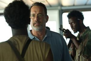 Tom Hanks spelar kapten Phillips, i ett mycket spännande sjödrama som bygger på en verklig historia.