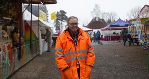 Christer Evert är arrangör och hoppas att fler kommer när söndagen bjuder på sol.