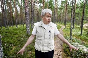 Värnar Gästriklands växter. Ove Lennström är floraväktaransvarig i Gästikland. Han berättar om vilka växter som hotas här och vad det beror på.