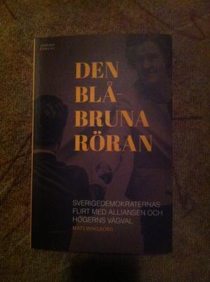 Boken Den blåbruna röran, av Mats Wingborg.