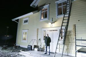 Det var från det här taket som Peter Kardin föll ner juldagskvällen 2012.