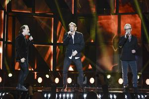 Patrik Isaksson, Tommy Nilsson och Uno Svenningsson fick lämna Melodifestivalen i deltävling två i Malmö.