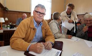 """Vill göra nytta. """"Jag har inga krämpor och har alltid tyckt om att jobba"""", säger Lars-Olof Stadell, som har anmält sitt intresse för att jobba åt bemanningsföretaget """"Hyr en pensionär""""."""