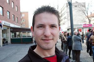 Xamuel Gonzales från Hofors är ersättare i Vänsterpartiets partistyrelse.