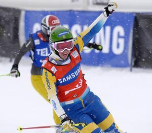 Sandra Näslund är tillbaka efter sin besvärliga knäskada förra året. Världscuppremiären blir i Innichen.