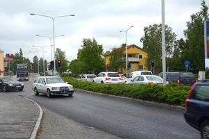 Under fyra dagar nästa vecka kommer det inte att finnas trafikljus i korsningen i Sund.