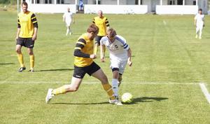 André Rydén gjorde ett gediget jobb och var tillsammans med målvakten Emil Dahlsten hemmalagets bästa spelare i matchen.