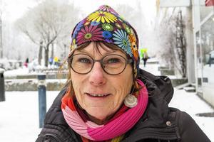 Kristina Ekegerd, 66 år, Aspås: Nej, jag har inget intresse. Det är en alldeles för stor grej och det kostar alldeles för mycket.