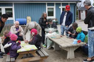 Barnen på Svalans förskola jobbade flitigt med sina sälgpipor.