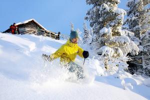 Det blev rekord för skidanläggningarna i Härjedalen den gångna vintern. Bilden tagen på Kröket i Tännäs.