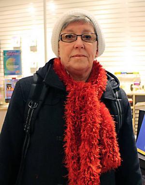 Anita Hedberg, 66 år, pensionär, Gävle– Det blev fem böcker och två ljudböcker. De flesta är deckare. Jag har läst samma författare tidigare och ville ha mer.