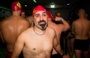 Alfred Ibrahim kommer från Västerås. Han satsar fullt ut och hoppas bestämt på att ta hem hela tävlingen.