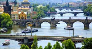 Prag - populärt för cityresan.