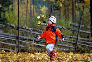 Min dotter Lovisa 3 år. Fotograf: Sandra Gustafsson, Sävenfors