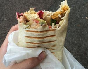 Vegan Schmegans Super Vego Wrap. 4/5 i betyg.