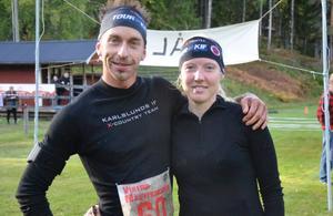 Klarade utmaningen bäst. Per Eklöf var överlägset snabbast runt i nya terrängloppet Utmattningen där han sprang en mil och Susanne Eriksson tog hem segern på fem kilometer.