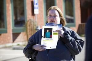 Jennie Wonevik anordnade gårdagens sökning i Andersberg efter Deber Rashid.