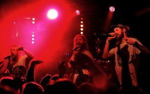 Looptroop Rockers skapade tryck i Borlänge. Foto: Jonas Stentäpp