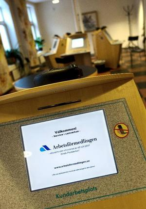 Arbetsförmedlingen befarar att antalet arbetslösa kan komma att öka i höst, även om det i förra veckan var 1400 fler arbetssökande i Jämtland än samma vecka förra året.Foto: HÅkan Luthman
