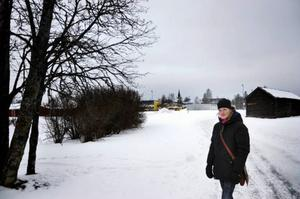 I Stallbacken utanför Ås bor Mia Rinzen som tror att många lockas till södra Krokoms kommun för att det ska byggas mer i framtiden.