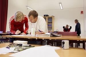 Räknestugan i Östersund är en del av den ideella föreningen Mattecentrum.