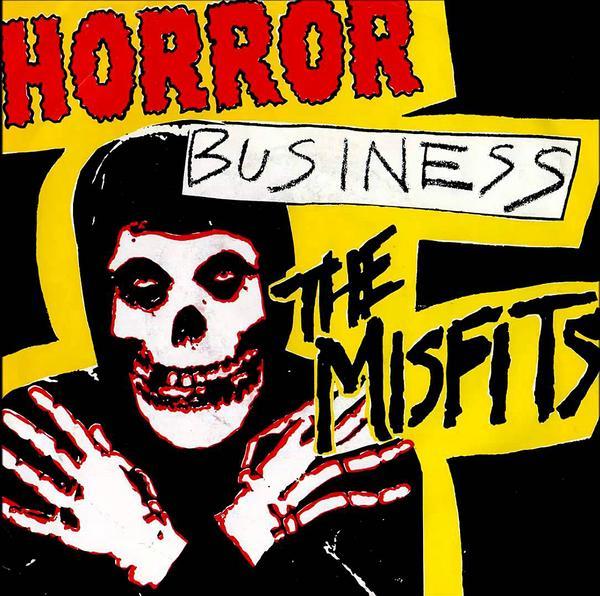 Skivomslaget till The Misfits