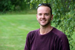 Grant Visser besöker Gävle för att leta efter sina släktingar.