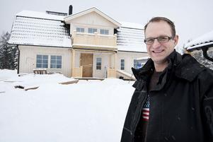 Villabyggen står för 50–60 procent av JP:s verksamhet, berättar Jens Pettersson.
