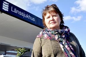 – Det är fruktansvärt. Det är katastrofalt, säger Åsa Holgersson, huvudskyddsombud på Vårdförbundet.