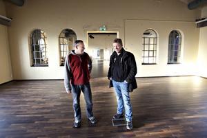 Micke Berglund och Jörgen Lundén ska forma Gasklockornas framtid.