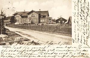 Allt text skrevs på bildsidan av vykorten före 1906.