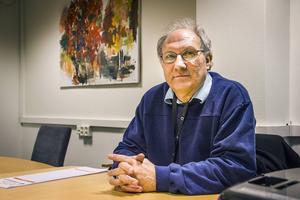 Lennart Diamant lever med flera hotbilder på grund av sitt yrke.