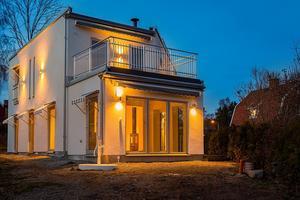 Den nybyggda villan på Hammarby stadshage är veckans klickraket vecka 48.