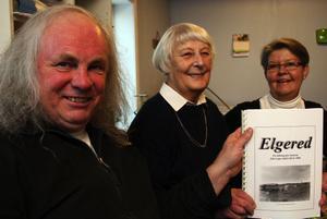 Ingvald Midelf tog emot gåvan för intresseföreningen och friidrottsklubben. Emma Johansson och Gunilla Krohn var utdelare för forskargruppen och mottagare för Hazeliusgården.