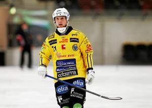 Vadim Arkhipkin, spelaren med den högsta stjärnstatusen i dagens Broberg.