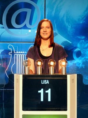 18-årige Lisa Hansen från Örebro vann kvällens program av