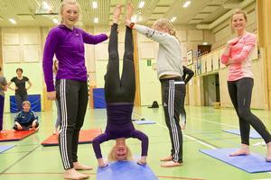 Jämtland-Härjedalens skidförbund ordnade kvällsaktiviteter som vände upp och ner på eleverna.